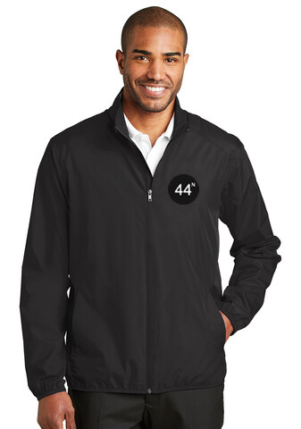 44N Port Authority® Zephyr Full-Zip Jacket - J344 - Black