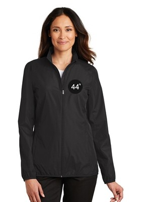 44N Port Authority® Ladies Zephyr Full-Zip Jacket - L344 - Black