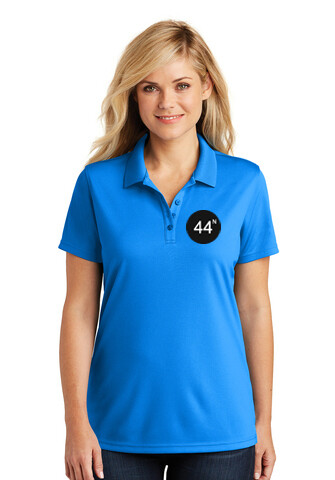44N Port Authority® Ladies Dry Zone® UV Micro-Mesh Polo - LK110 Costal Blue
