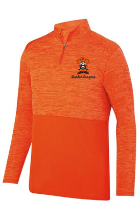 SHADOW TONAL HEATHER 1/4 ZIP PULLOVER (2 Color Choices)