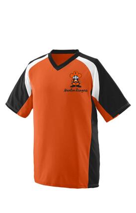 NITRO JERSEY YOUTH Orange, Black, and White