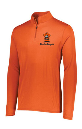 YOUTH ATTAIN WICKING 1/4 ZIP PULLOVER (3 Color Choices)