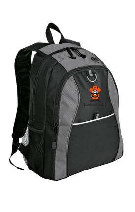 Port Authority® Contrast Honeycomb Backpack Grey/Black