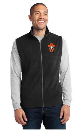 Port Authority® Microfleece Vest Black
