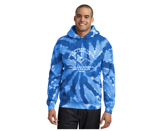 Port & Company® Tie-Dye Pullover Hooded Sweatshirt PC146