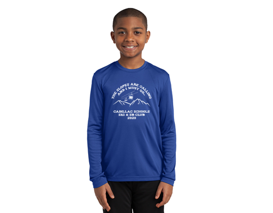 Sport-Tek® Youth Long Sleeve PosiCharge® Competitor™ Tee YST350LS