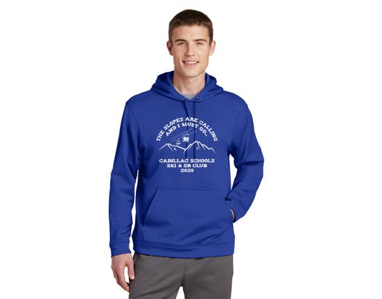 Sport-Tek® Sport-Wick® Fleece Hooded Pullover F244