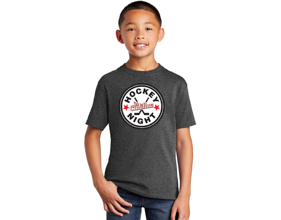 Port & Company® Youth Core Cotton Tee  - HOCKEY