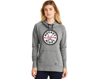 New Era® Ladies Tri-Blend Fleece Pullover Hoodie - HOCKEY