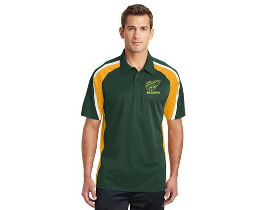 Sport-Tek® Tricolor Micropique Sport-Wick® Polo