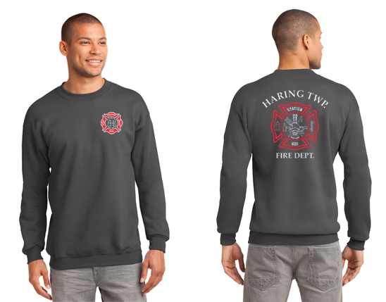 PC90T Port & Company® Essential Fleece Crewneck Sweatshirt -  TALL SIZES