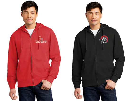 DT6102 District® V.I.T.™ Fleece Full-Zip Hoodie