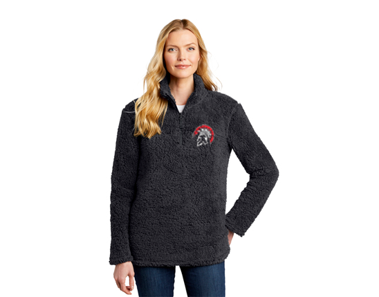 L130 Port Authority® Ladies Cozy 1/4-Zip Fleece