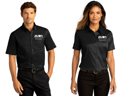 W809 / LW809 Port Authority® Short Sleeve SuperPro React™Twill Shirt -AP