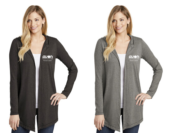 DT156 - District ® Women's Perfect Tri ® Hooded Cardigan -AP