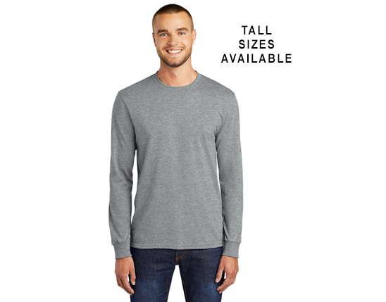PC55LS (TALL SIZES AVAILABLE) - Port & Company® Core Blend Tee  -AP