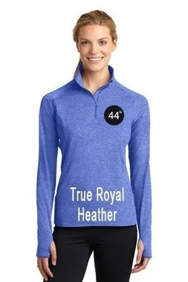 44N Sport-Tek® Ladies Sport-Wick® Stretch 1/2-Zip Pullover. LST850