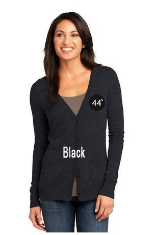 44N District Made® - Ladies Cardigan Sweater. DM415.