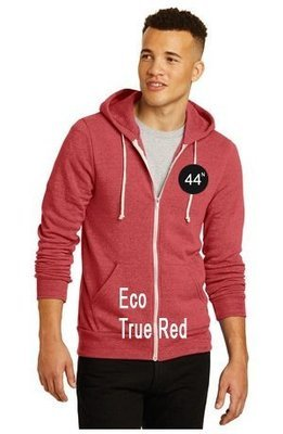 44N Alternative® Rocky Eco-Fleece Zip Hoodie. AA9590