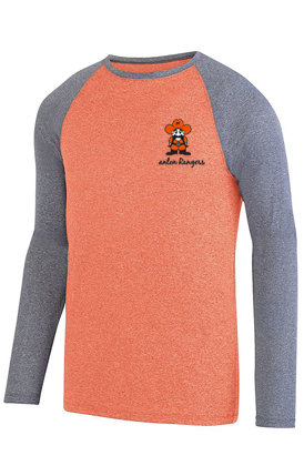 Mens - Augusta Kinergy Two Color Long Sleeve Raglan Tee Style # 2815