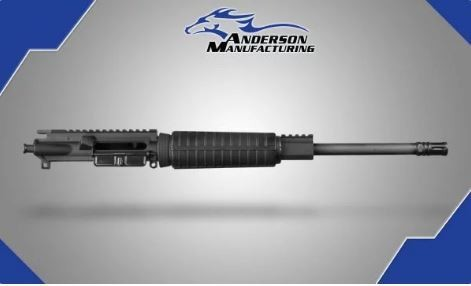 "ANDERSON 16"" 300 BLACKOUT COMPLETE UPPER"