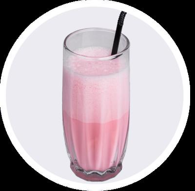 Молочный коктейль йогуртовый
