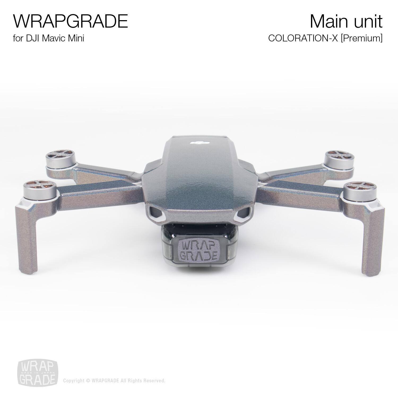 Wrapgrade Poly Skin for Mavic Mini | Main Unit (COLORATION-X)