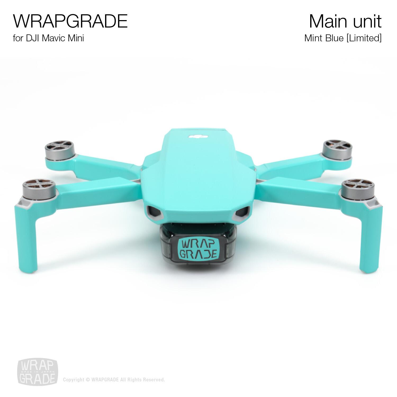 Wrapgrade Poly Skin for Mavic Mini | Main Unit (MINT BLUE)