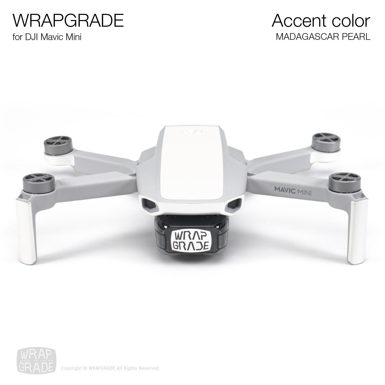 Wrapgrade Poly Skin for Mavic Mini | Accent color (MADAGASCAR PEARL)