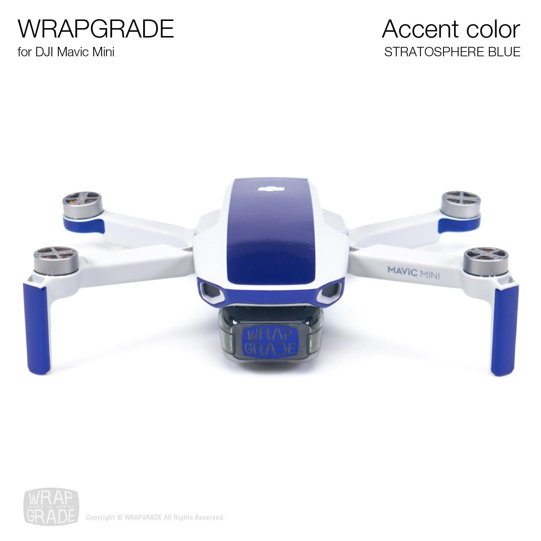 Wrapgrade Poly Skin for Mavic Mini | Accent color (STRATOSPHERE BLUE)