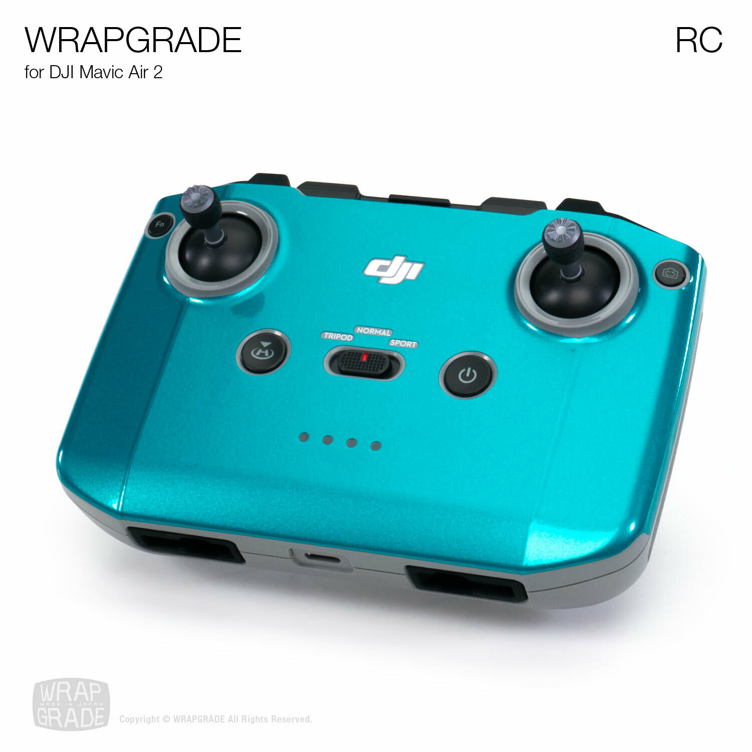 Wrapgrade Poly Skin for DJI Mavic Air 2 | RC [20 colors]