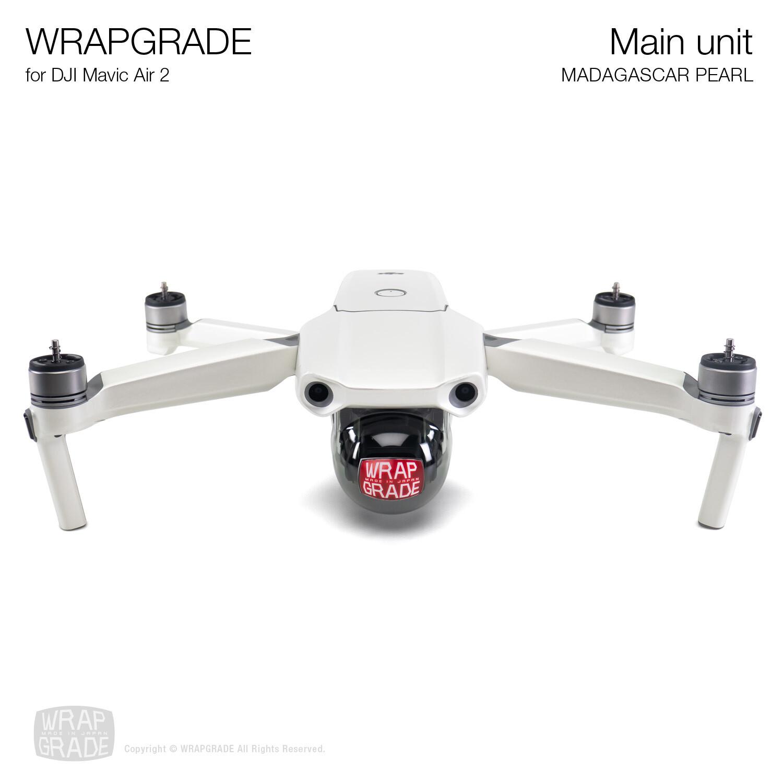 Wrapgrade for DJI Mavic Air 2 | Main Unit (MADAGASCAR PEARL)