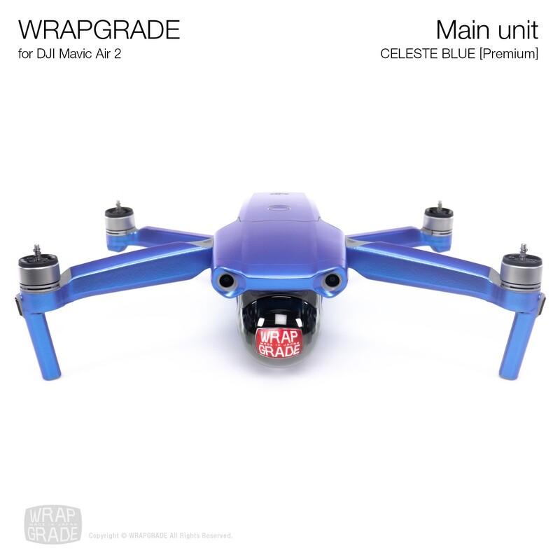 Wrapgrade for DJI Mavic Air 2 | Main Unit (CELESTE BLUE)