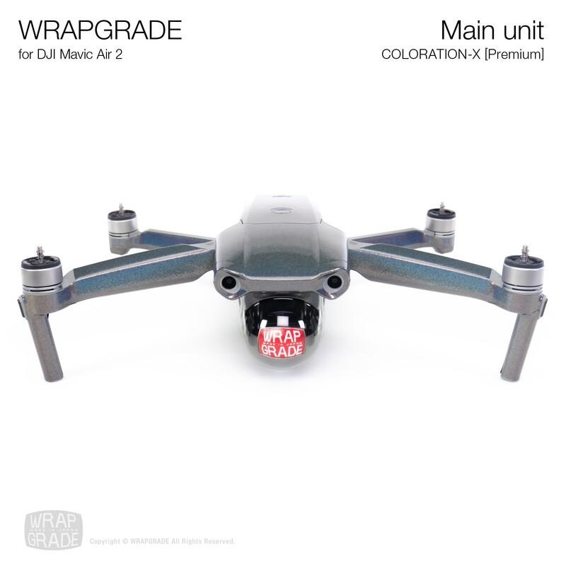 Wrapgrade for DJI Mavic Air 2 | Main Unit (COLORATION-X)