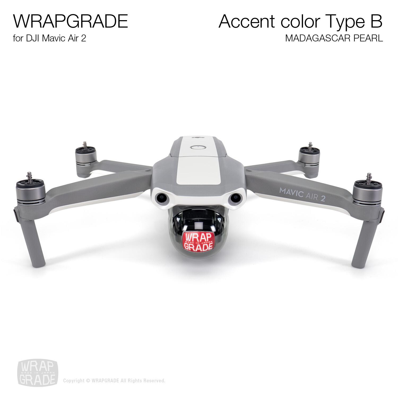 Wrapgrade for DJI Mavic Air 2 | Accent Color B (MADAGASCAR PEARL)