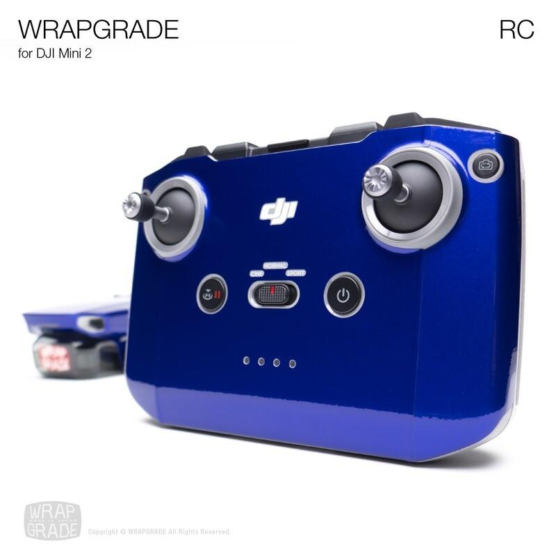 Wrapgrade Poly Skin for DJI Mini 2 | RC [20 colors]