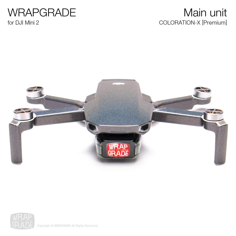 Wrapgrade Poly Skin for DJI Mini 2 | Main Unit (COLORATION-X)