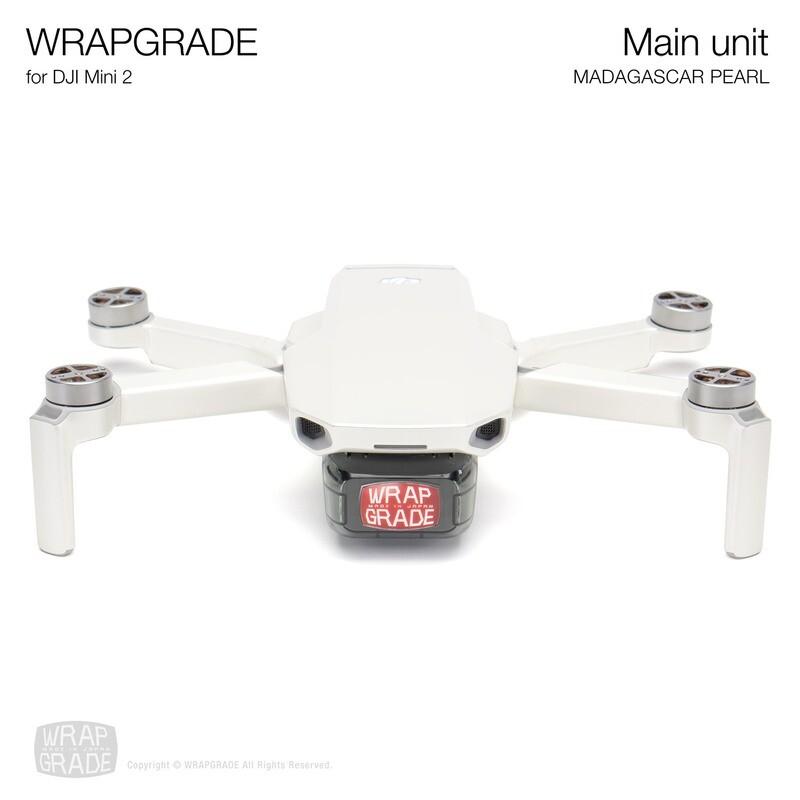 Wrapgrade Poly Skin for DJI Mini 2 | Main Unit (MADAGASCAR PEARL)