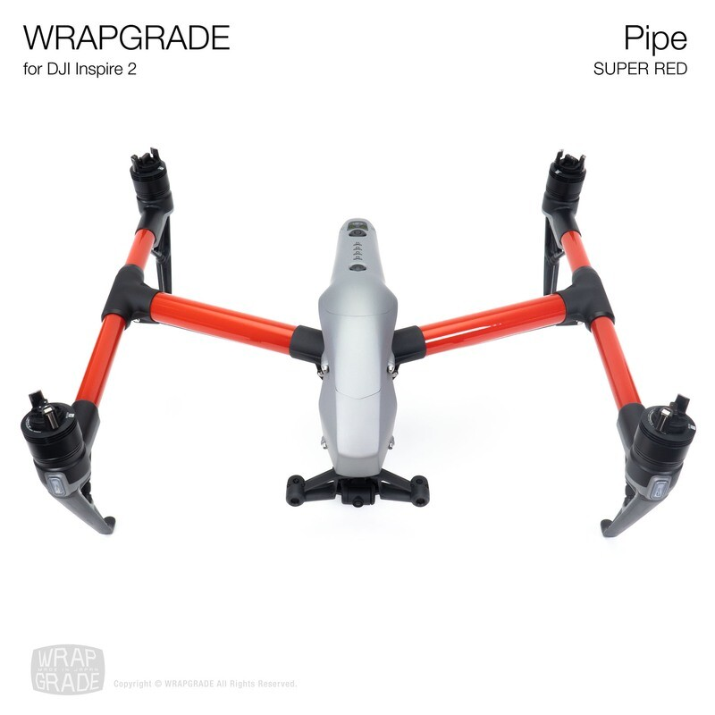 WRAPGRADE for DJI Inspire 2 | Pipes [20 colors]