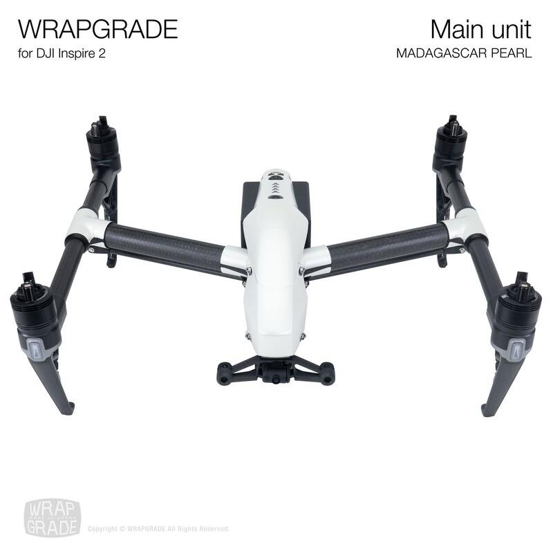 WRAPGRADE for DJI Inspire 2 | Main Unit (MADAGASCAR PEARL)