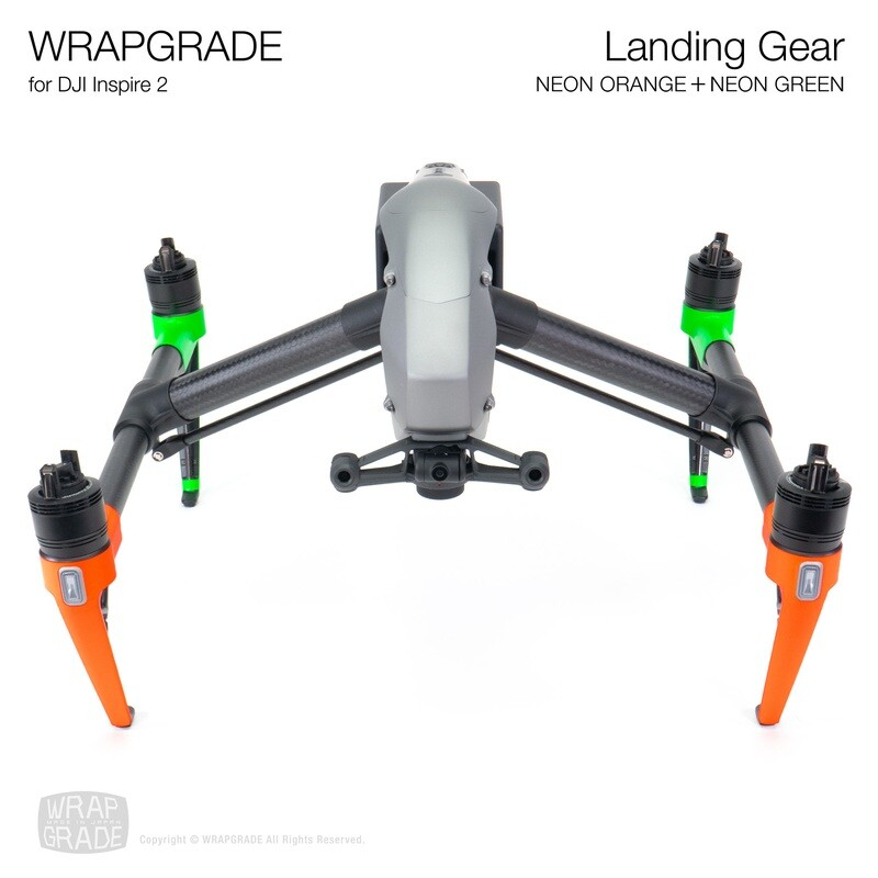 WRAPGRADE for DJI Inspire 2 | Landing Gear [21 colors]