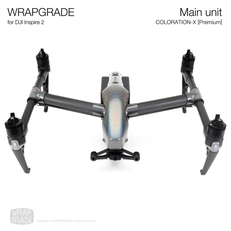WRAPGRADE for DJI Inspire 2 | Main Unit (COLORATION-X)