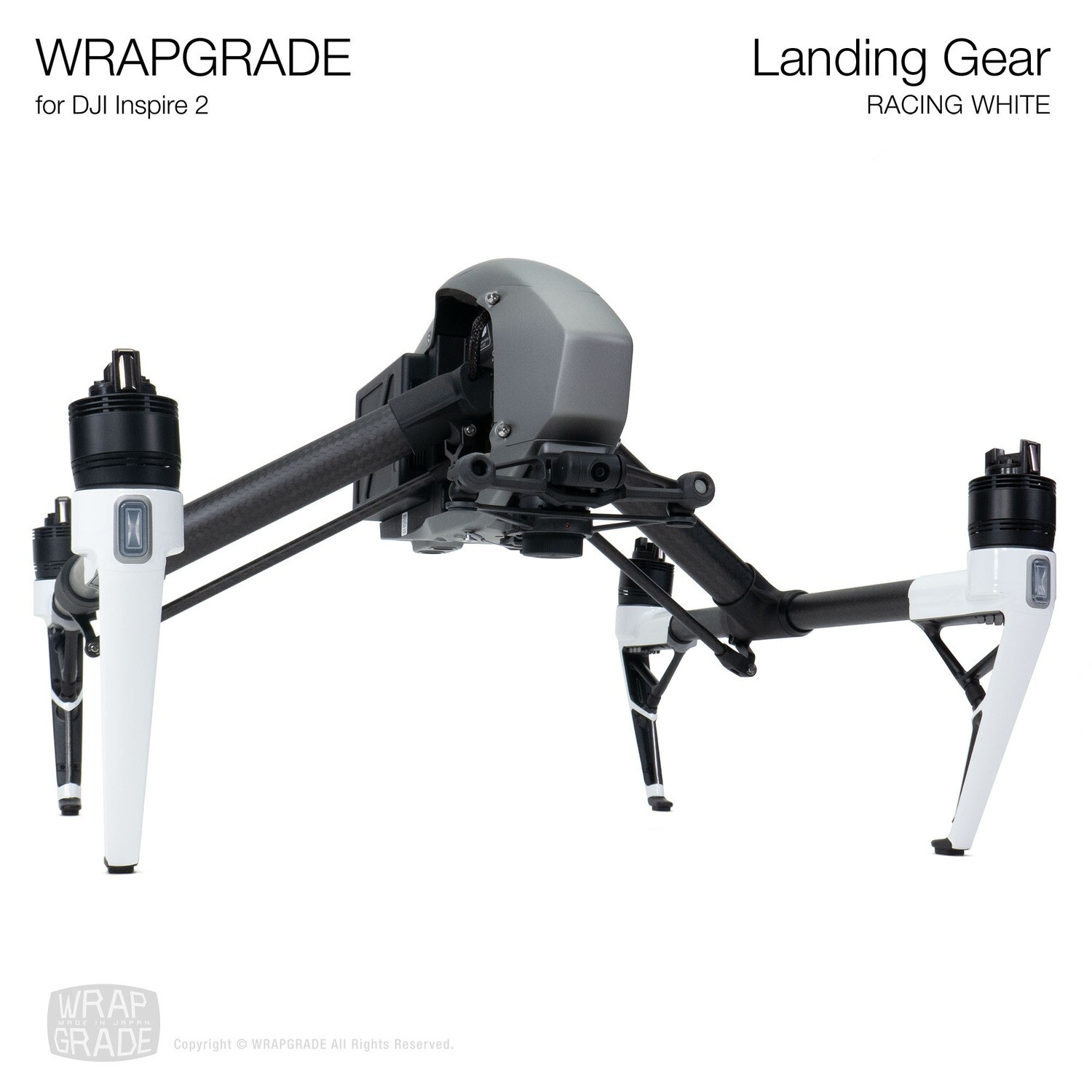 WRAPGRADE for DJI Inspire 2 | Landing Gear [21 colors]