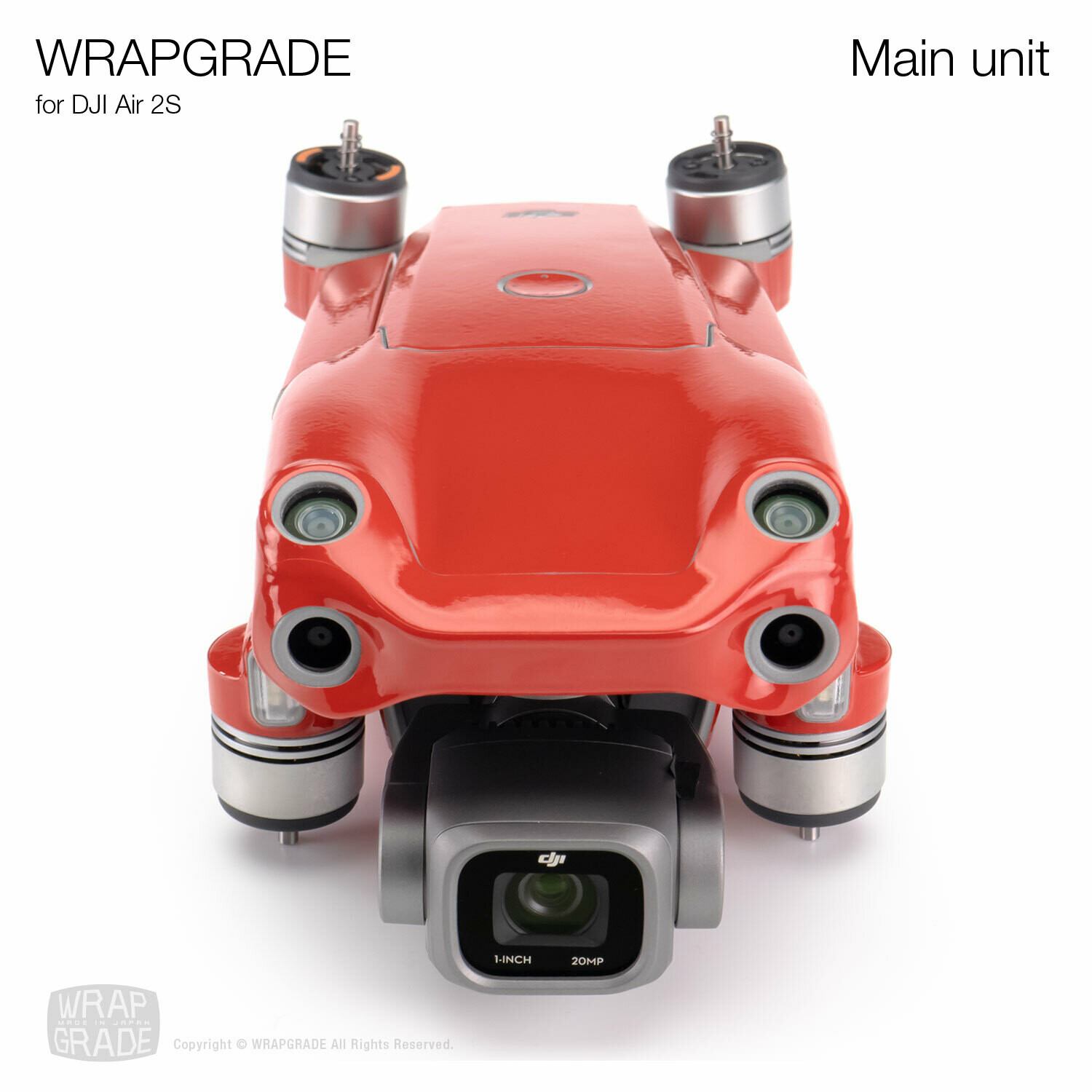 Wrapgrade Skin for DJI Air 2S | Drone [20 colors]