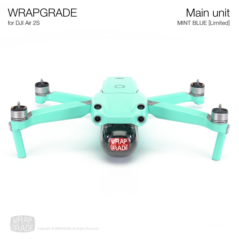 Wrapgrade Skin for DJI Air 2S | Main Unit (MINT BLUE)