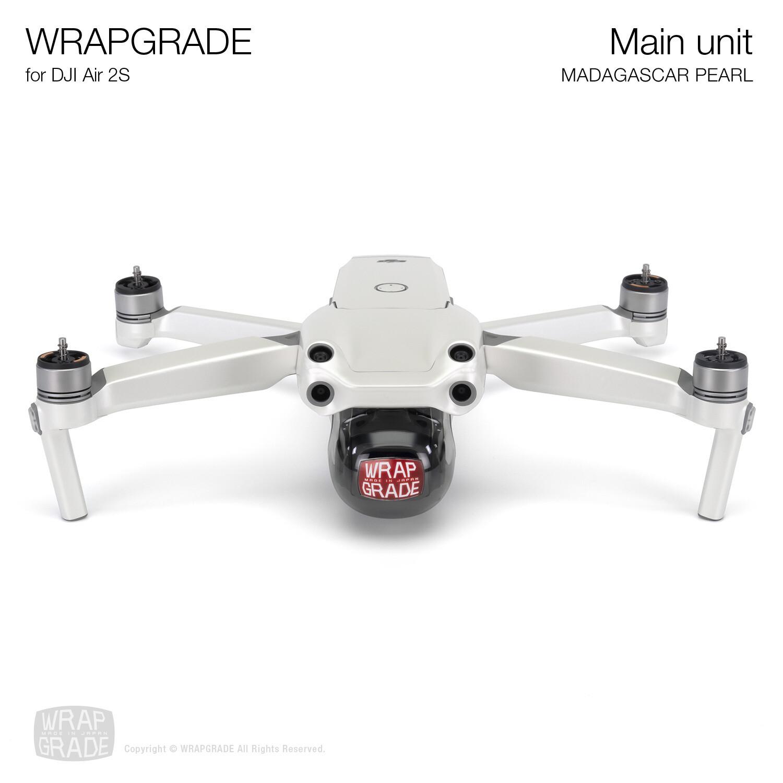 Wrapgrade Skin for DJI Air 2S | Main Unit (MADAGASCAR PEARL)