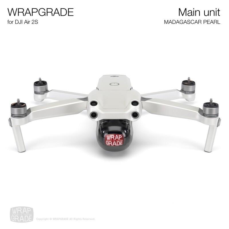 Wrapgrade Skin for DJI Air 2S   Main Unit (MADAGASCAR PEARL)