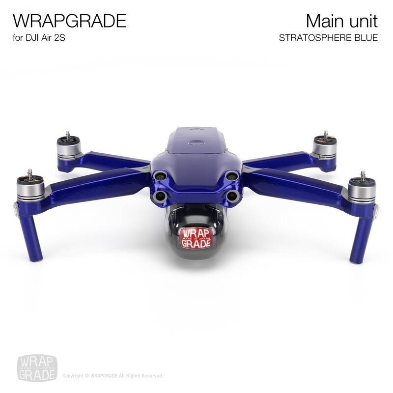 Wrapgrade Skin for DJI Air 2S   Main Unit (STRATOSPHERE BLUE)