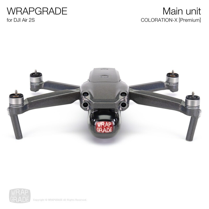 Wrapgrade Skin for DJI Air 2S   Main Unit (COLORATION-X)