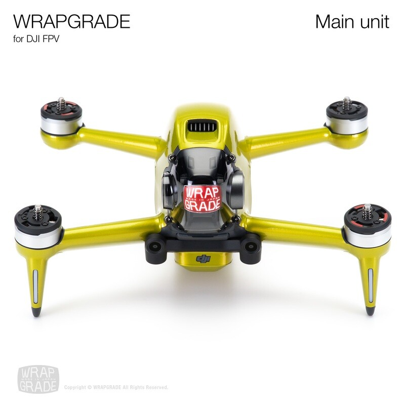 WRAPGRADE for DJI FPV   Drone [20 colors]